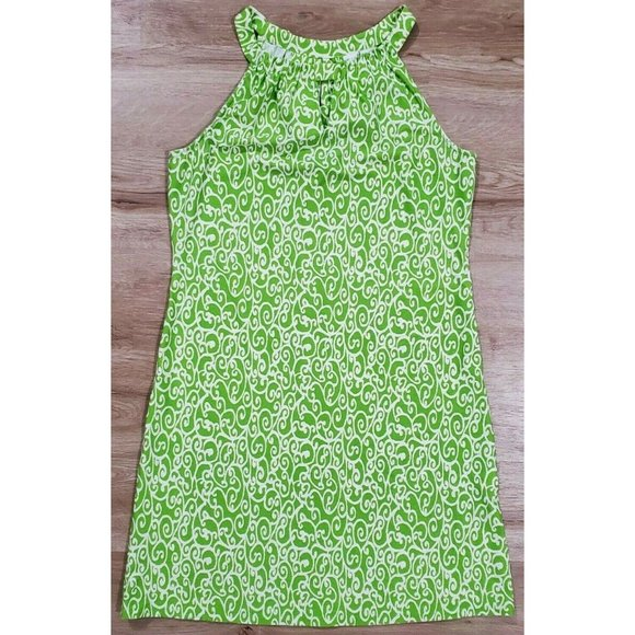 Jude Connally Dresses & Skirts - Jude Connally Womens Lisa Green Print Dress Medium